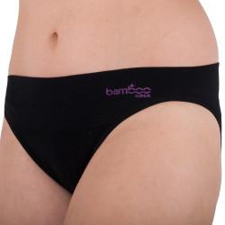 Dámské kalhotky Gina černé (00022)
