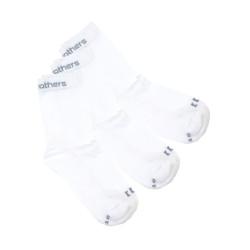 3PACK ponožky Horsefeathers bílé (AA547B)