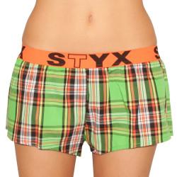 Dámské trenky Styx sportovní guma vícebarevné (T603)