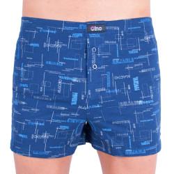Pánské trenky Gino modré (75808)