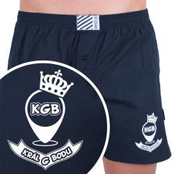 Pánské trenky Infantia černé s vtipem PTKG31