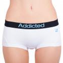 Dámske nohavičky Addicted biela modrá