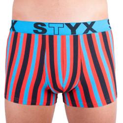 Pánské boxerky Styx sportovní guma vícebarevné (G861)