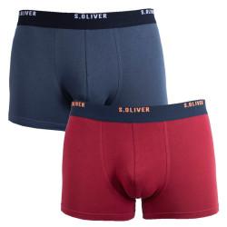 2PACK pánské boxerky S.Oliver vícebarevné (2R.895.97.4253 18D1)