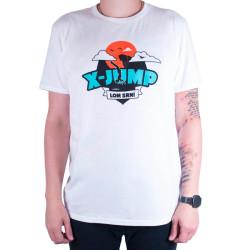 Pánské tričko X-jump bílé
