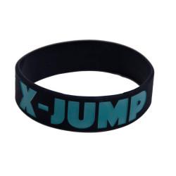Gumový náramek X-jump černý
