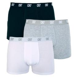 3PACK pánské boxerky CR7 vícebarevné (8100-49-633)