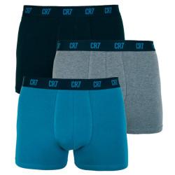 3PACK pánské boxerky CR7 vícebarevné (8100-49-650)