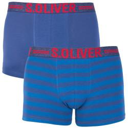 2PACK pánské boxerky S.Oliver modré (2R.895.97.4266 10B6)