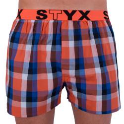Pánské trenky Styx sportovní guma vícebarevné (B706)