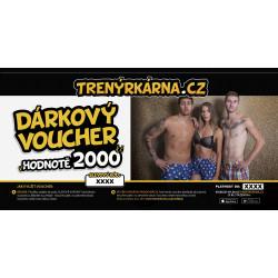 Elektronický voucher 2000,- (zaslání pouze e-mailem)