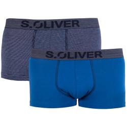 2PACK pánské boxerky S.Oliver vícebarevné (26.899.97.4256.17F1)