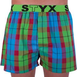Pánské trenky Styx sportovní guma vícebarevné (B702)