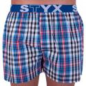 Pánske trenky Styx športová guma viacfarebné (B704)