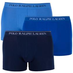 3PACK pánské boxerky Ralph Lauren modré (714513424010)