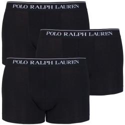 3PACK pánské boxerky Ralph Lauren černé (714513424002)