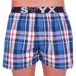 Pánské trenky Styx sportovní guma vícebarevné (B630)