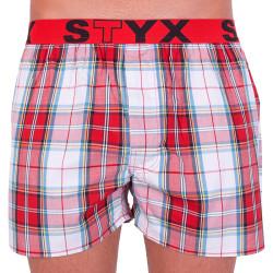 Pánské trenky Styx sportovní guma vícebarevné (B632)