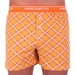 Pánské trenky Gino oranžové (75112)