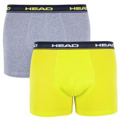 2PACK pánské boxerky HEAD vícebarevné (841001001 007)