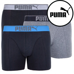 3PACK pánské boxerky Puma vícebarevné (681030001 691)