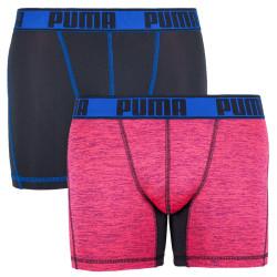 2PACK pánské boxerky Puma sportovní vícebarevné (671018001 505)