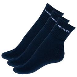 3PACK ponožky HEAD tmavě modré (771026001 321)