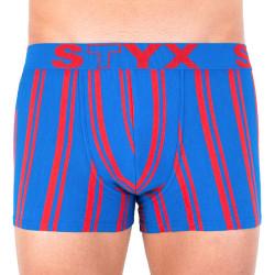 Pánské boxerky Styx sportovní guma nadrozměr vícebarevné (R766)