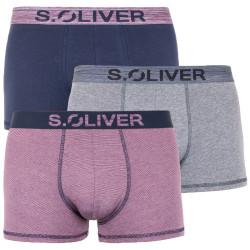 3PACK pánské boxerky S.Oliver vícebarevné (26.899.97.4255.16B7)