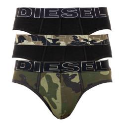 3PACK pánské slipy Diesel vícebarevné (00SH05-0HAVY-E4869)