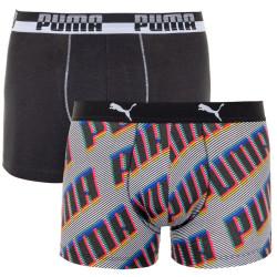 2PACK pánské boxerky Puma vícebarevné (691002001 831)