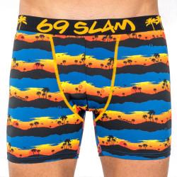 Pánské boxerky 69SLAM fit sunset palm