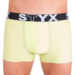 Pánské boxerky Styx sportovní guma nadrozměr zelenkavé (R4)