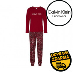 Dámské pyžamo Calvin Klein vícebarevné (QS6154E-ABQ)