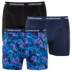 3PACK pánské boxerky Bjorn Borg vícebarevné (1931-1895-70011)