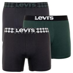 3PACK pánské boxerky Levis vícebarevné (995046001 327)
