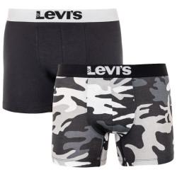 2PACK pánské boxerky Levis vícebarevné (995034001 200)