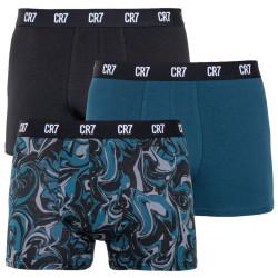 3PACK pánské boxerky CR7 vícebarevné (8110-49-705)