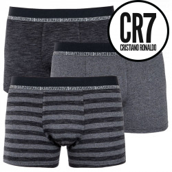 3PACK pánské boxerky CR7 vicebarevné (8231-49-900)