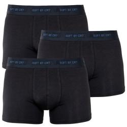 3PACK pánské boxerky CR7 černé (8230-49-400)