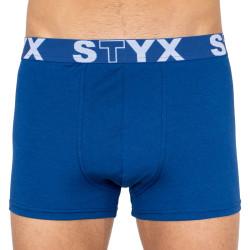 Pánské boxerky Styx sportovní guma nadrozměr tmavě modré (R968)