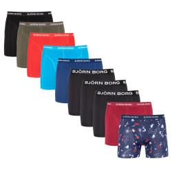 10PACK pánské boxerky Bjorn Borg vícebarevné (1941-1170-70011)