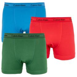3PACK pánské boxerky Calvin Klein vícebarevné (U2662G-VVP)