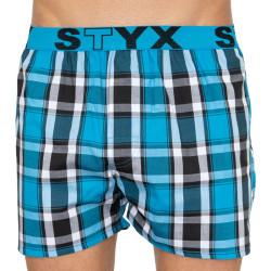 Pánské trenky Styx sportovní guma vícebarevné (B809)