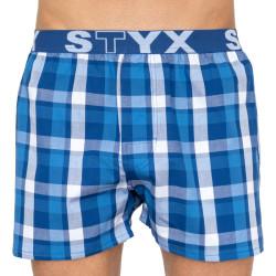 Pánské trenky Styx sportovní guma vícebarevné (B804)
