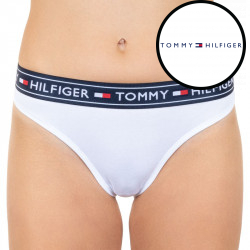 Dámské kalhotky Tommy Hilfiger bílé (UW0UW00723 100)