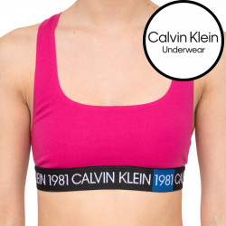 Dámská podprsenka Calvin Klein růžová (QF5577E-8ZK)