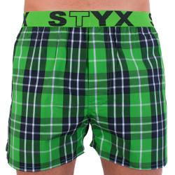 Pánské trenky Styx sportovní guma vícebarevné (B710)
