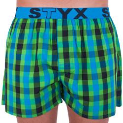 Pánské trenky Styx sportovní guma vícebarevné (B709)