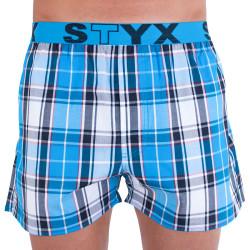 Pánské trenky Styx sportovní guma vícebarevné (B717)